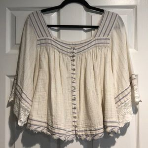 Foley free people top